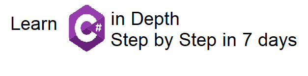 Learn C# in Depth Step by Stepin 7days