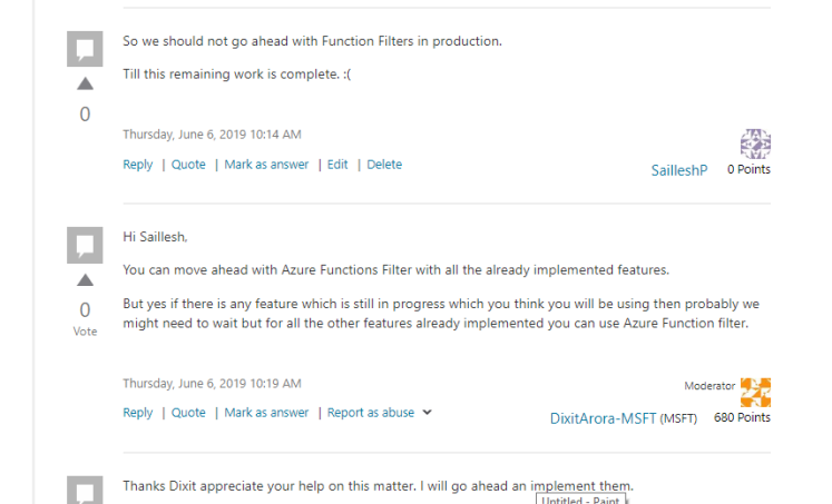 Do you know Azure Function have Function-Filters? | using