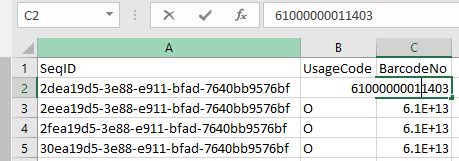 Tip of the day: Save columns with long numbers in CSV in proper format using C# andSQLServer